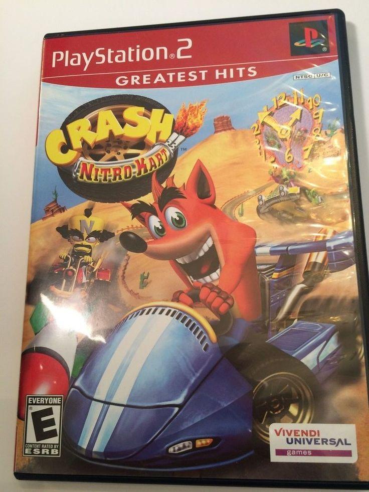 Crash nitro kart playstation 2 video game video game