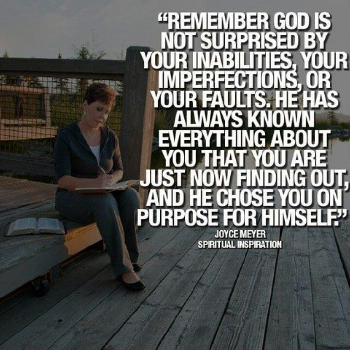 joyce meyer finding love On this episode of enjoying everyday life, joyce meyer encourages us to simply be available to god you'll be amazed at what he can do through you.