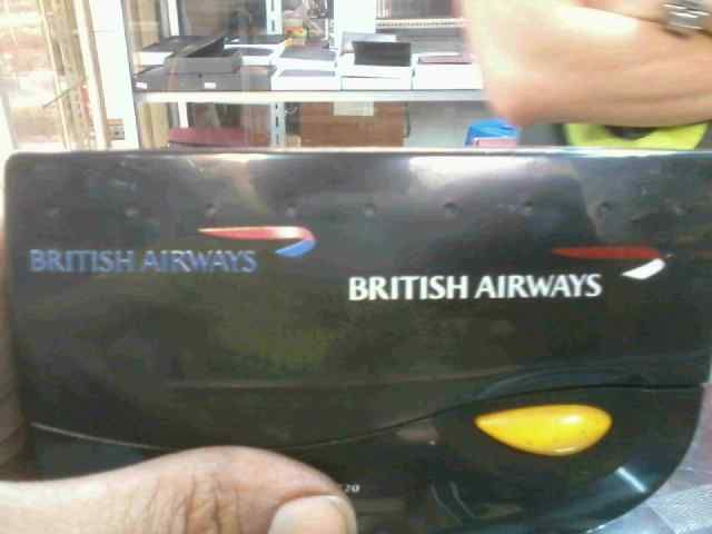 Brand on radio FM for british airways projects