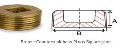 Bronze Square Plug Countersunk  #BronzeSquarePlugCountersunk   Copper Parts Components India is  manufacturers exporters and suppliers of Bronze Square Plug Countersunk, square plugs, square tubing plugs, square tube plug, square tube plugs