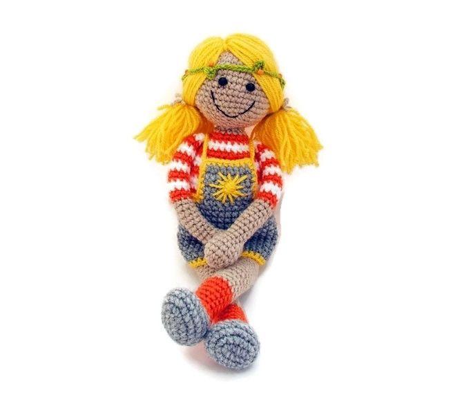 Sunny - crochet doll / http://habcsi.blogspot.hu/2014/03/sunny.html