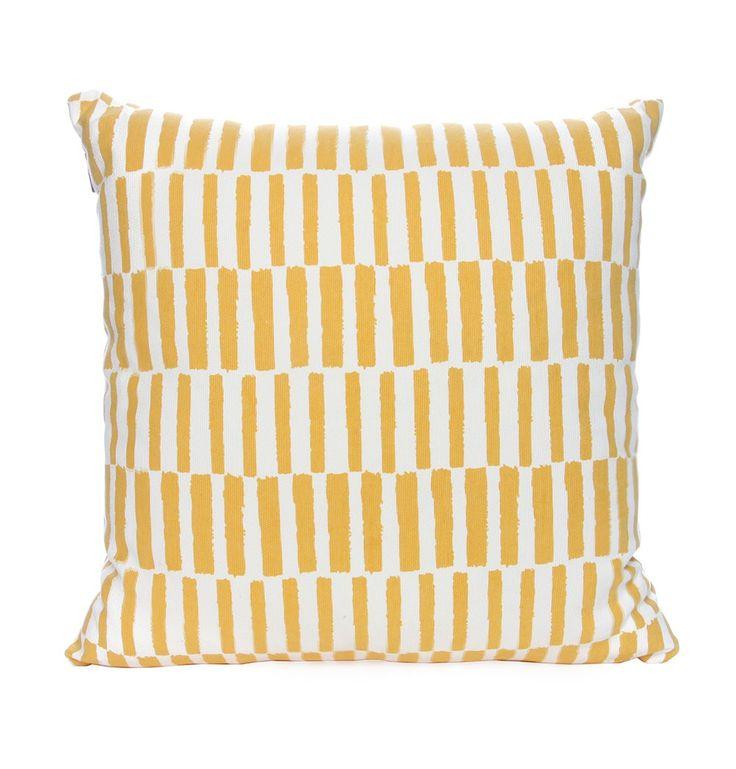Belmont Yellow Cushion - Matt Blatt