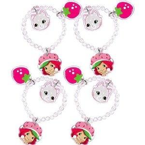 Strawberry Shortcake Party Supplies Charm Bracelets