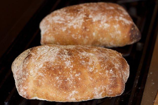 Fast Easy Ciabatta Bread