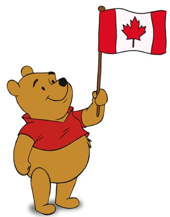 In honor of Canada Day and the upcoming release of Disney's new animated film Winnie the Pooh, here's the story of