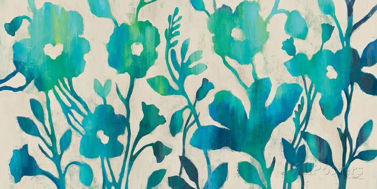 Teal Trio I Art Print at AllPosters.com