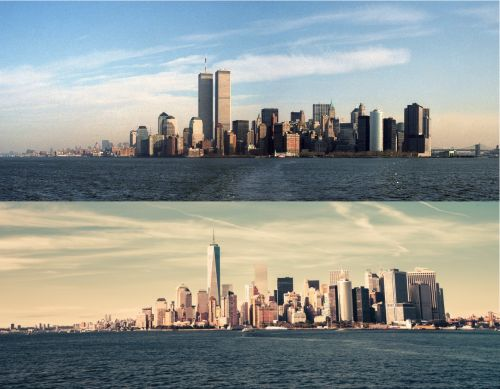 Old-New Skyline of Manhattan by micomplicated #nyc