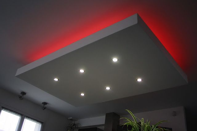 Faux Plafond Retro Eclairage Led Indirect Eclairage Plafond