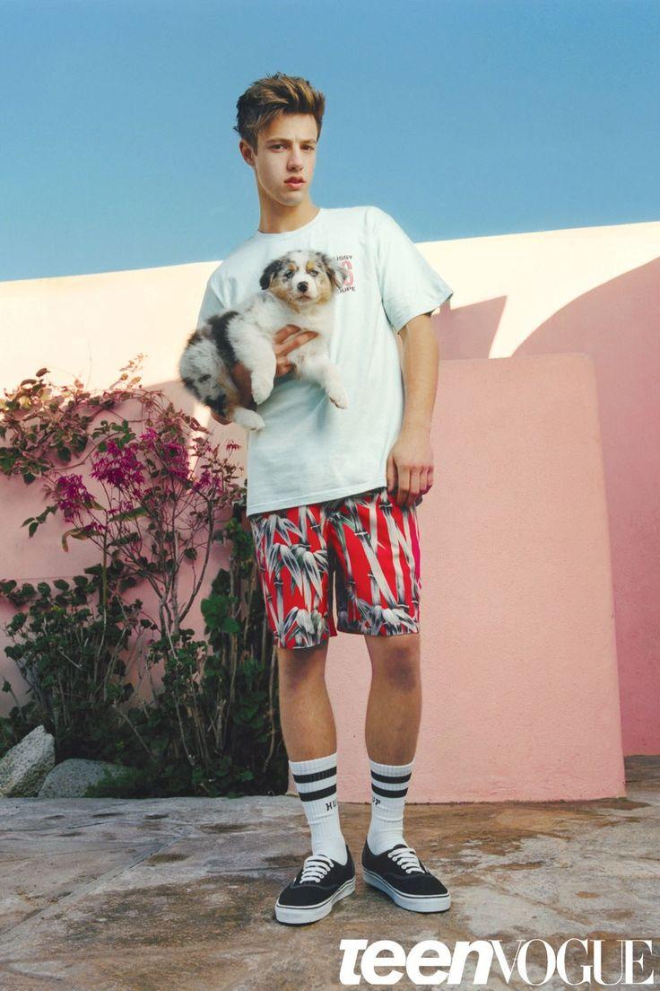 Cameron Dallas Cuddles with Puppies and Talks Social Superstardom in Our Latest…