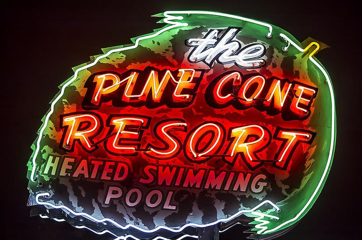 403 Best Neon Signs Hotel Motel Images On Pinterest