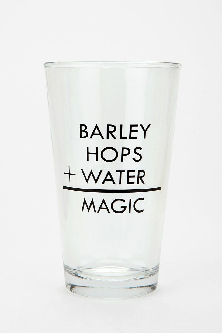 When in doubt, a pint glass is always a good idea. Custom products, with purpose...
