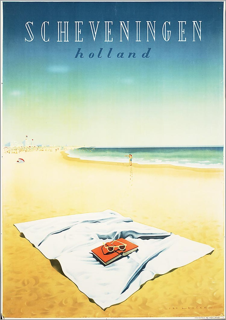 Scheveningen - The Netherlands - ad from 1955