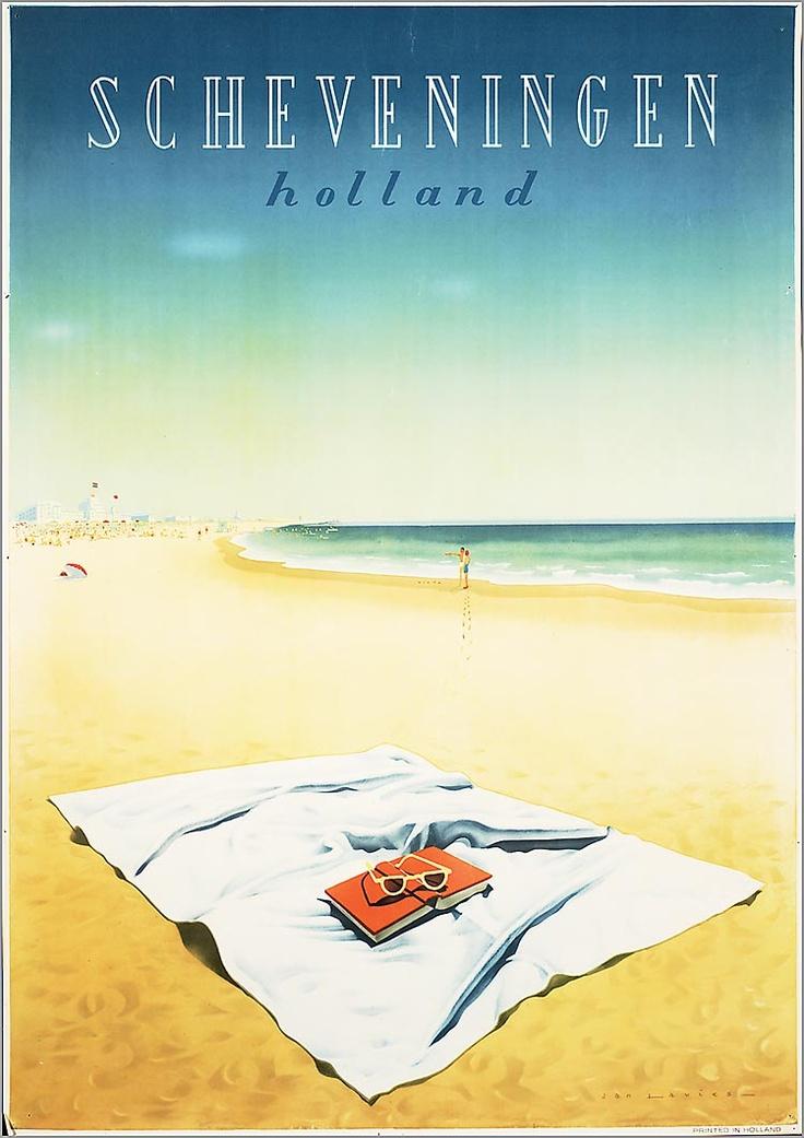 THE NETHERLANDS - Scheveningen 1955 #Vintage #Travel