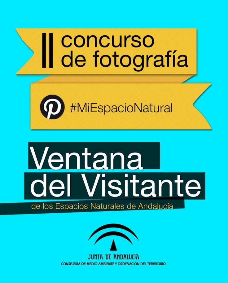 """La Consejería de Medio Ambiente y Ordenación del Territorio de la Junta de Andalucía, con motivo de la celebración del Día Europeo de los Parque Naturales en este mes de mayo, convoca el II Concurso de Fotografía Pinterest """"Espacios Naturales de Andalucía"""".  Este concurso se desarrollará en Pinterest desde el 16 de mayo de 2016 hasta el 31 de mayo de 2016con hashtag """"#MiEspacioNatural"""", consulte las bases del concuso en la documentación asociada.   #MiEspacioNatural"""