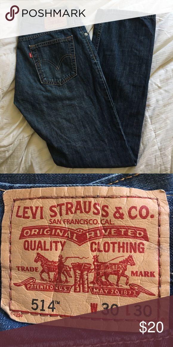 Men's Levi Jeans 514 W30 L30 ➡️ blue Levi's Jeans Straight