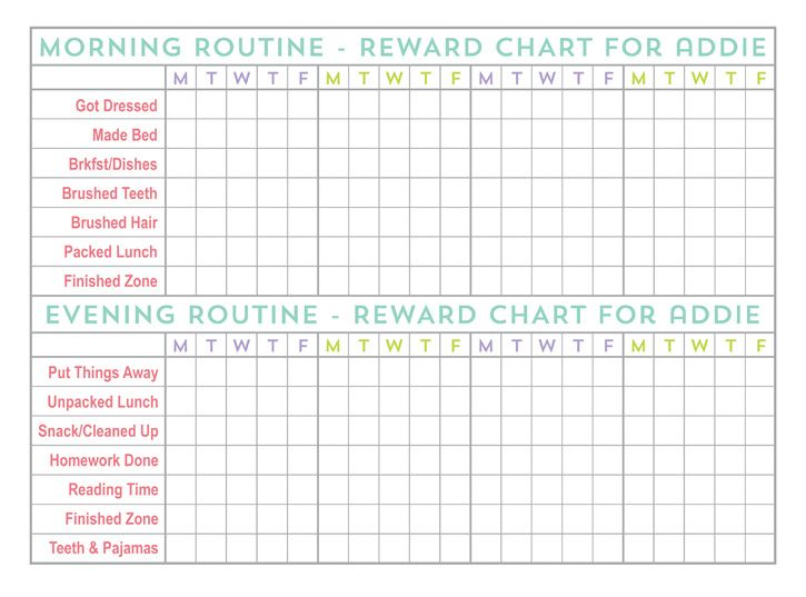 The 25+ best Back to school checklist ideas on Pinterest Daily - free printable reward charts for teachers