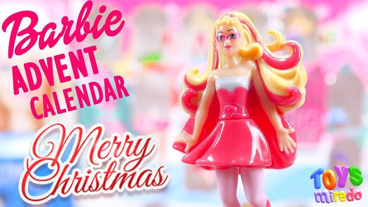 Barbie from Kinder advent calendar @ToysMiredo on #youtube  #toysmiredo #surpriseeggs #kindereggs