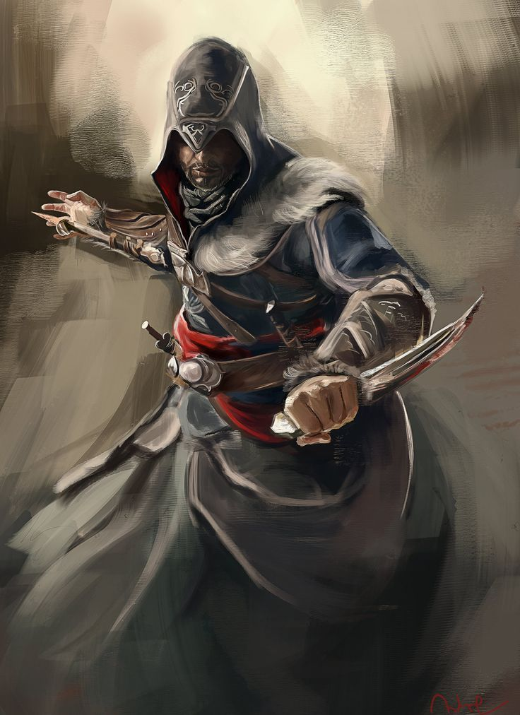 Ezio Revelations by Namecchan.deviantart.com #AssassinsCreed