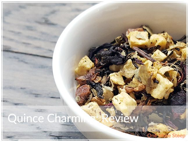 Review of DavidsTea's Quince Charming (flavoured black tea) on One More Steep