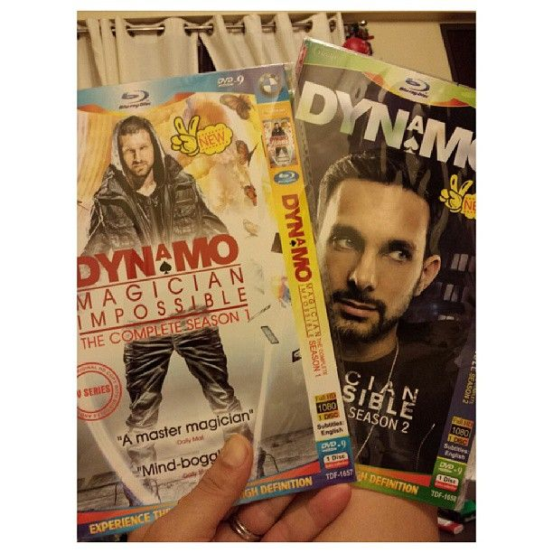 He is #amazing #crazy guy!! #dynamo #magician #impossible watching #season 1 and 2 :-) very nice:-) すんごい #マジシャン だ!! #ダイナモ #dvd #フィリピン