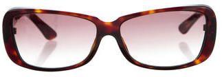 Cartier Tortoiseshell Rectangle Sunglasses