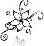 Easy Sketches Of Flowers - Bing Images
