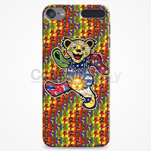 The Grateful Dead Dancing Bear iPod Touch 6 Case   casefantasy