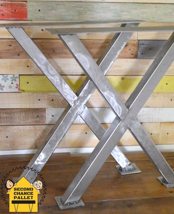 Metal Table Legs, Steel Table Legs, X Table Legs, X Table Base, Perfect for Farmhouse Table, Table Legs Metal, Table Legs Steel, Metal Legs