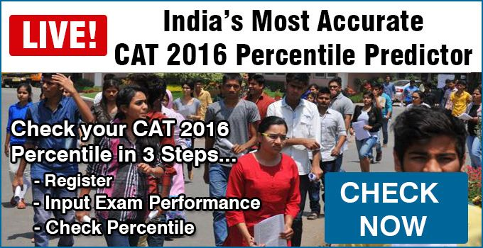 #CAT2016_Percentile_Predictor- Mbauniverse.com launches CAT Percentile Predictor to Predict colleges based on your actual CAT score or find required CAT score/percentile to get the list of IIMs / top MBA colleges to seek admission. Register now @ http://www.mbauniverse.com/cat-percentile-calculator.php