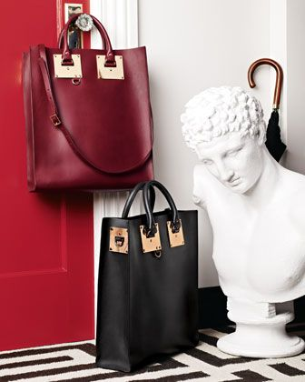 For Her: Sophie Hulme Signature Leather Totes