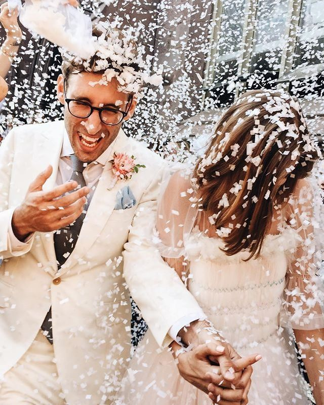 inside agyness deyn's sweet brooklyn wedding | image via: vogue