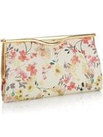 floral summer clutch