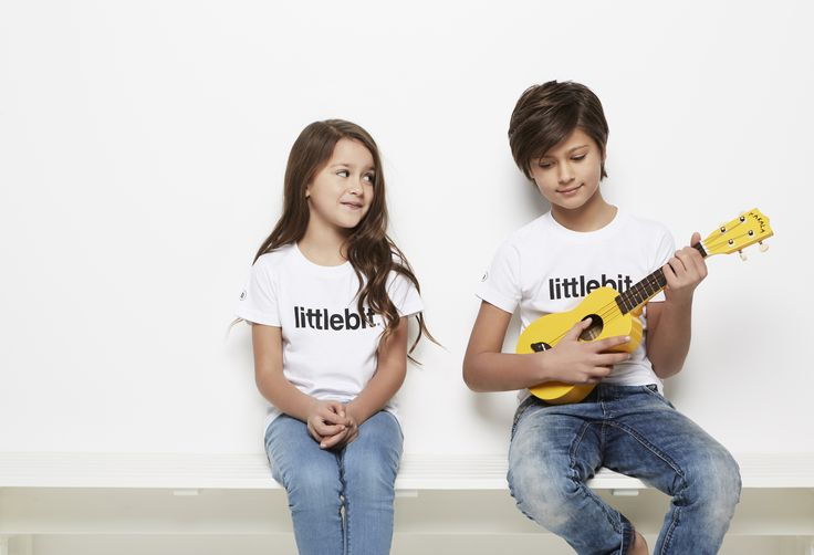 Littlebit tees and caps for teens 8 to 14.