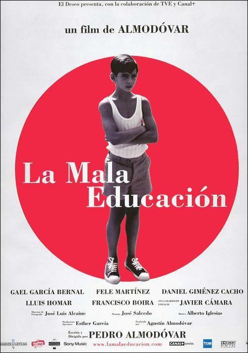 La mala educación (2004) España. Dir: Pedro Almodóvar. Drama. Cine negro. Homosexualidade. Cine dentro do cine. Relixión. Ensino - DVD CINE 971