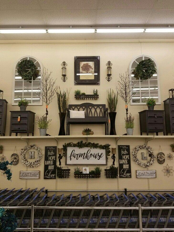 Hobby Lobby display