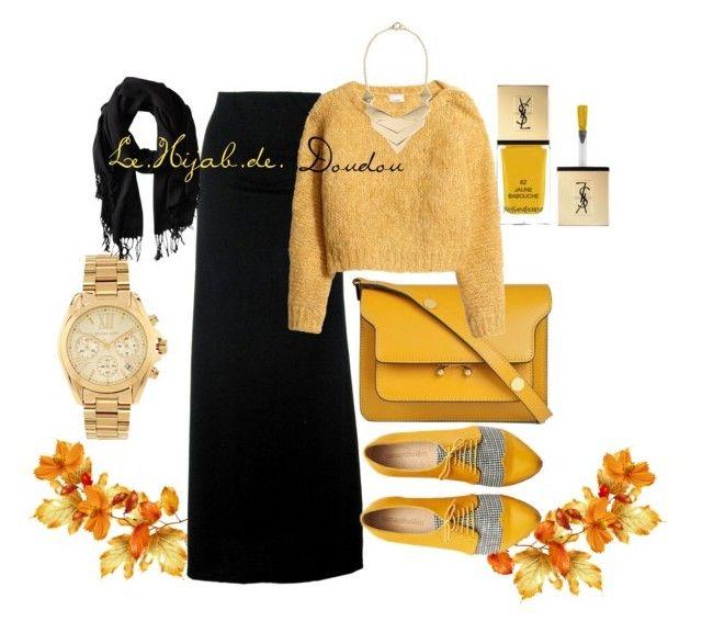 Mustard Yellow Hijab Outfit  http://lehijabdedoudou.wordpress.com