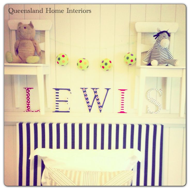 This is my three year old's bedroom. It's been a fabulous room, but now it's time for change and will undergo a complete makeover. Stay tuned. You can follow Queensland Interiors on Instagram @queenslandinteriors - hope you enjoy!