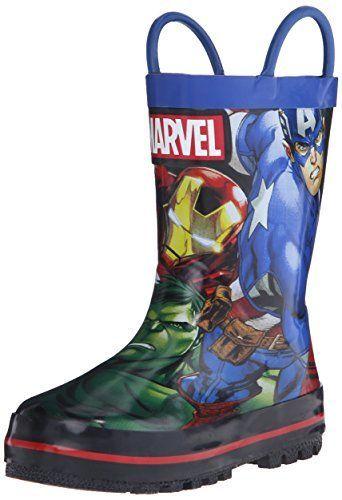 Disney 1AVS502 Avengers Rain Boot (Toddler/Little Kid) -- Click image to review more details.