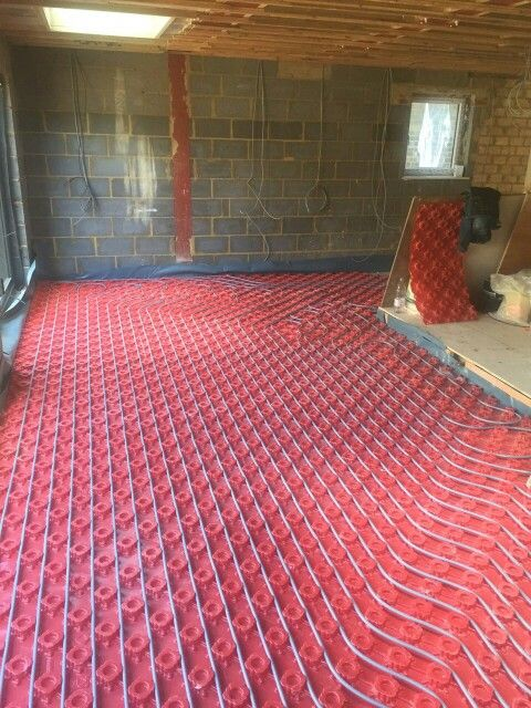 Polypipe Underfloor Heating for solid floor