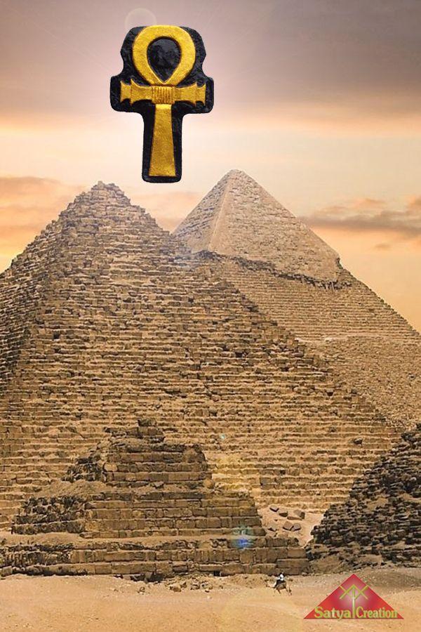 Ankh, Egyptian Cross, pendant, handmadejewelry, giftforher, giftforhim, giftideas. Available on Etsy : Satya Creation.