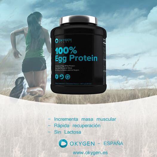 100% Egg Protein. Incrementa la masa muscular y Ayuda a una rapida recuperación, sin lactosa.