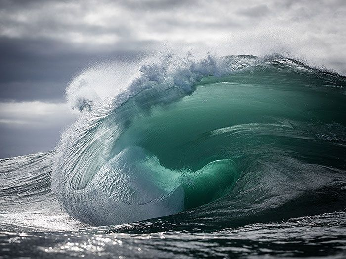 ... The Majestic Power Of Ocean Waves