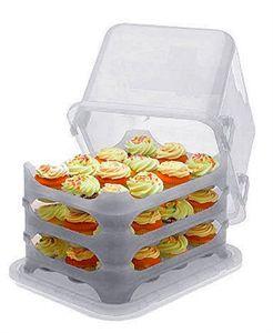 Imagen de Transportador para cupcakes y pasteles - The Cupcake Courier