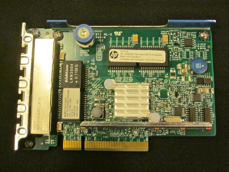 Ethernet Adaptor Card, Hewlett Packard, Kingdom Ridge Capital, KRC, 1Gig