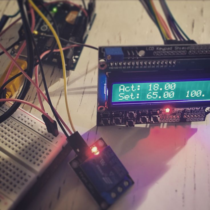 Arduino home brew PID controller.