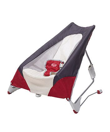 Suitable from birth to approx. 12 months (9kg), the Tiny Love take-along bouncer is lightweight and easy to fold, ideal for fuss-free transportation to give your baby the cosy feel of home wherever you go.