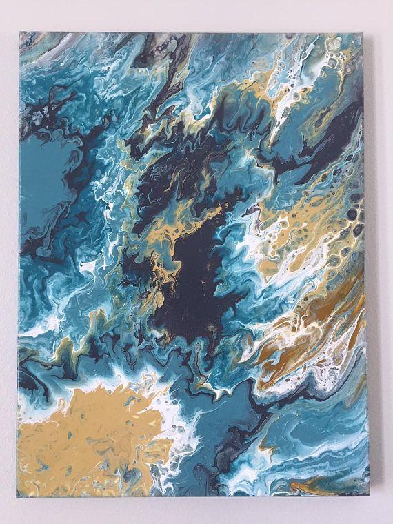 18x24 Wall Art Beach Themed Artwork Ocean Wall Art Canvas Ocean