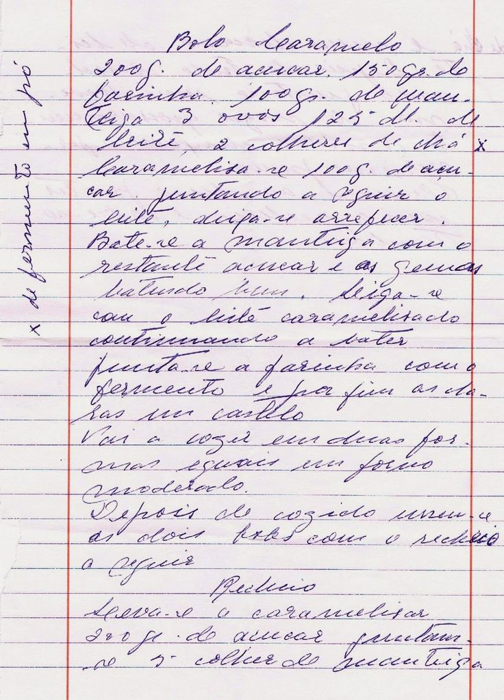 As Receitas da Avó Helena e da Avó Eduarda: Bolo de Caramelo