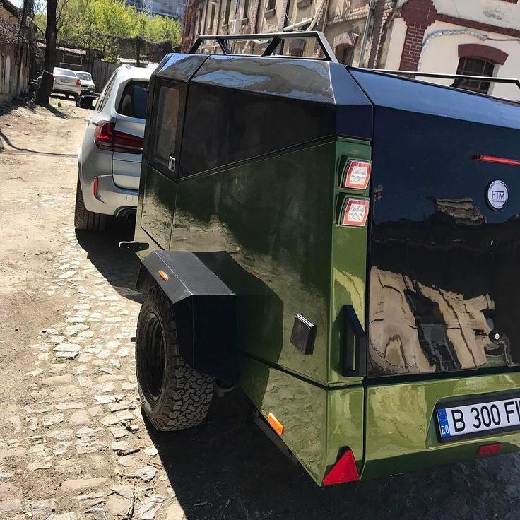 trailer caravan off-road