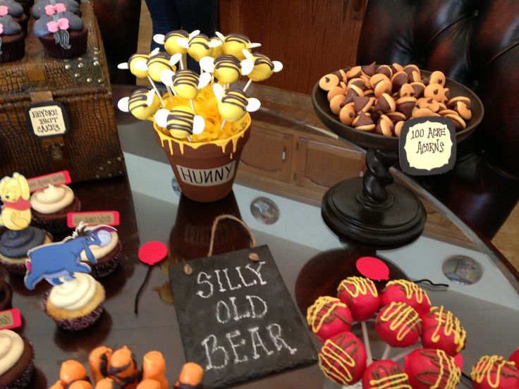 Winnie The Pooh Dessert Table Party licious